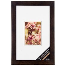 "Bronze & White Gallery Frame By Studio Décor, 5"" x 7"""