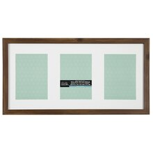 """Rustic Aspect 3-Opening Panel Frame By Studio Decor, 5"""" x 7"""""""
