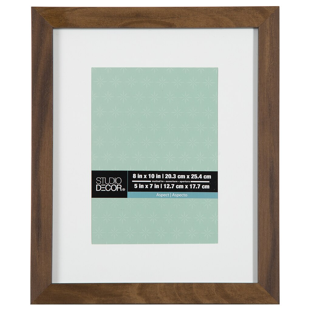 Shop for the Rustic Aspect Narrow Frame With Mat By Studio Décor® at ...