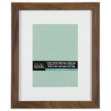 """Rustic Aspect Narrow Matted Frame By Studio Décor, 5"""" x 7"""""""