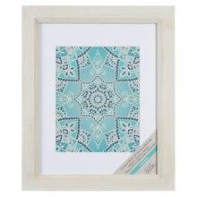 "White Savannah Wooden Frame By Studio Decor, 8"" x 10"""