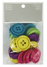 Blumenthal Lansing Assorted Big Button Value Pack, Brights