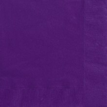 Dark Purple Luncheon Napkins, 20ct