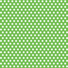 Lime Green Polka Dot Wrapping Paper