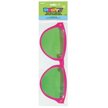 Giant Pink Novelty Sunglasses Packaged