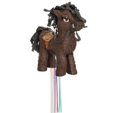 Brown Horse Piñata, Pull String