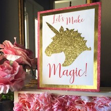 """Let's Make Magic"" Oversize Valentine's Day Card, medium"