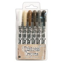 Tim Holtz Distress Crayons, Set #3 Distress