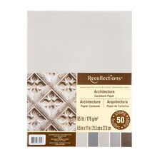Archtitecture Cardstock Paper by Recollections