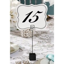 David Tutera Table Cards, Numbered 1 to 25