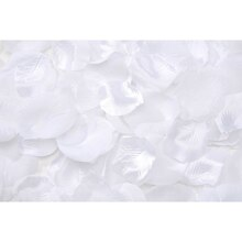 Victoria Lynn 100 Loose Satin Rose Petals, White