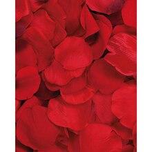 Victoria Lynn 100 Loose Satin Rose Petals, Red