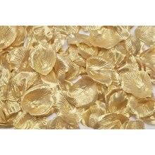 Victoria Lynn 100 Loose Satin Rose Petals, Gold