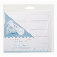 Victoria Lynn™ Printable Gift Tags, medium