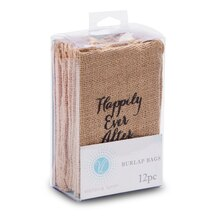 Victoria Lynn Happily Ever After Mini Burlap Bags