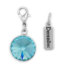 Create Your Style Swarovski December Birthstone Charms