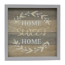 Alexandria Home Sweet Home Wall Decor By Studio Décor Front