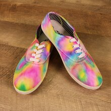 Tie Dye Canvas Shoes, medium