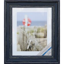 "Distressed Blue Catalina Frame By Studio Décor, 11"" x 14"""