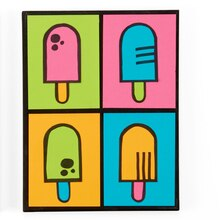 Kids Club® Pop Art Popsicles, medium