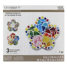 Made With Love Flower Stepping Stone Kit By Celebrate It