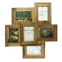 natural farmington 6 opening collage frame by studio dcor 4