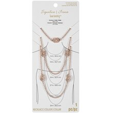 Signature Filigree 14K Rose Gold-Plated Rope Chain Necklace By Bead Landing