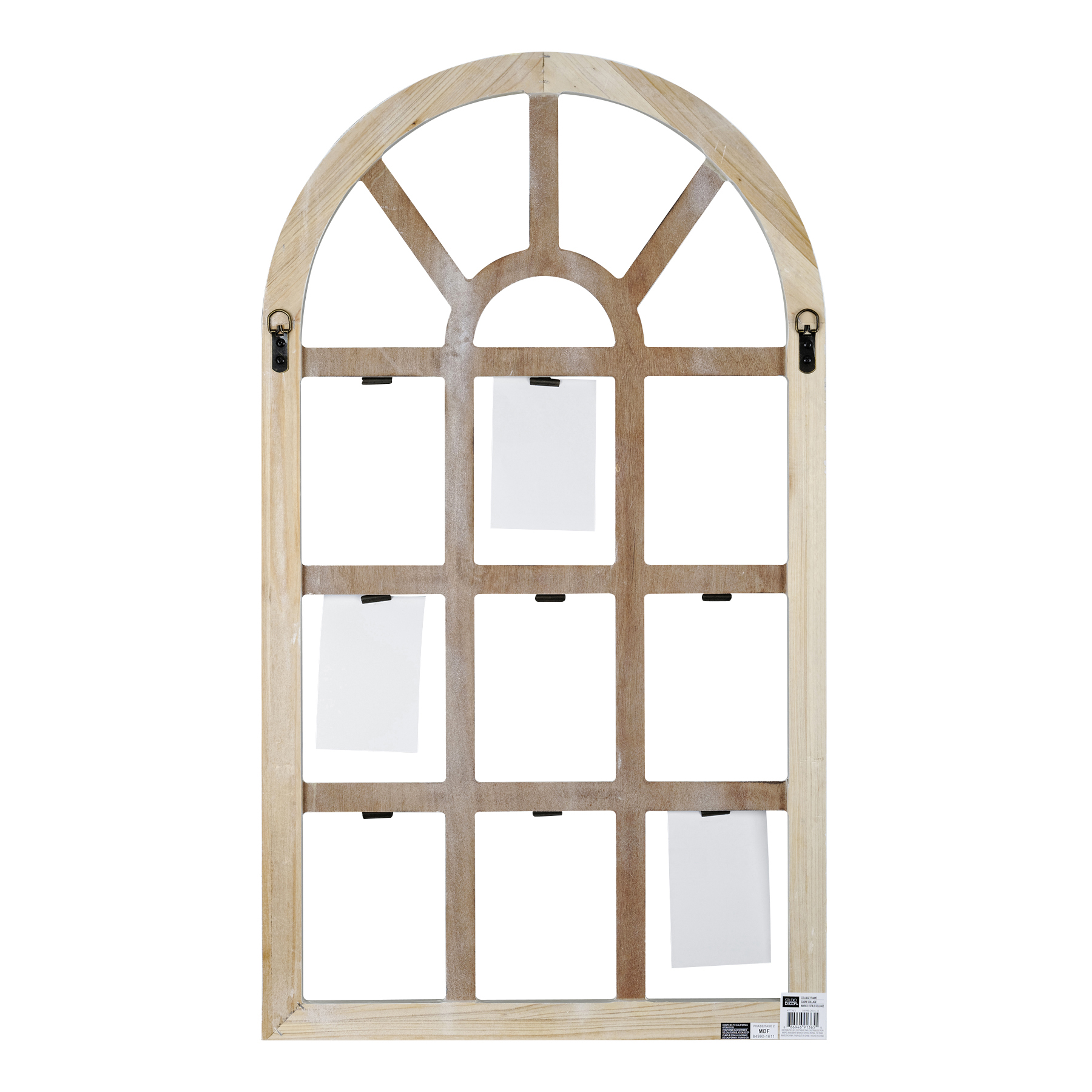 ... White Savannah Window Frame with Clips By Studio Décor Back  sc 1 st  Michaels Stores & Shop for the White Window Frame with Clips Savannah By Studio Décor ...