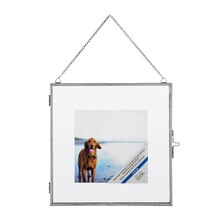 """Silver Catalina Float Frame By Studio Décor, 10"""" x 10"""""""