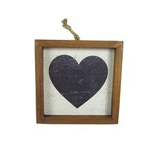 Wooden Farmington Heart Wall Decor Sign By Studio Decor