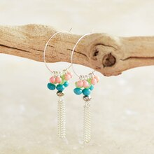 Beaded Earrings, medium