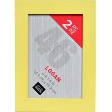 "Yellow Logan Frames By Studio Decor, 4"" x 6"""