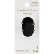 Signature Color Shop Black Agate Ring By Bead Landing
