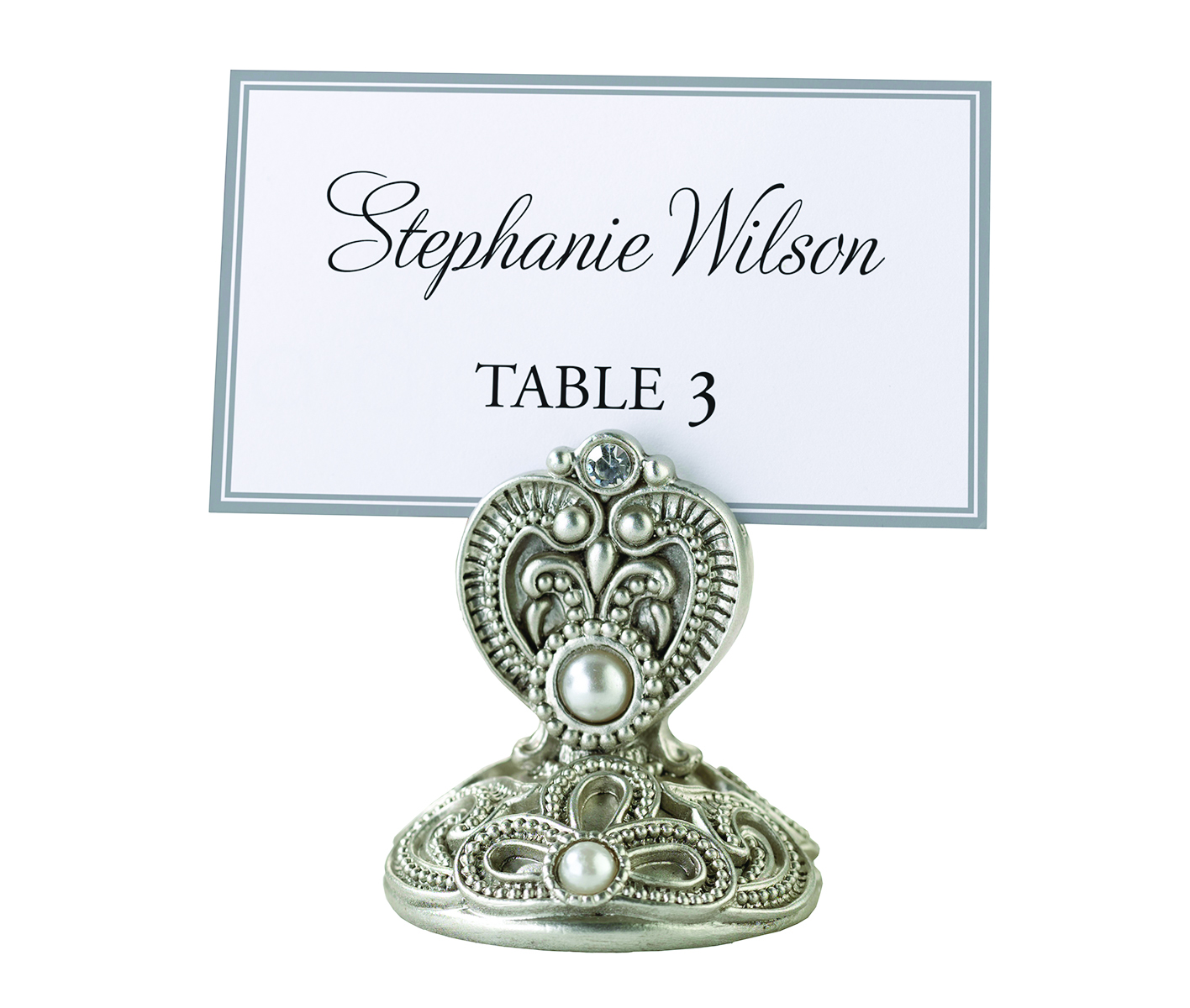 lillian rose jeweled place card holders