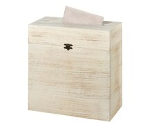 Lillian Rose Rustic Wooden Card Box