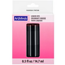Fuchsia Pink Liquid Dye By ArtMinds Packaged