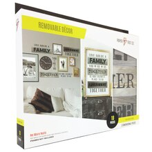 Paper Riot Co. Large Removable Decor Kit, Family Together Front