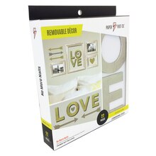 Paper Riot Co. Medium Removable Decor Kit, Love Front