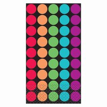 Retro Polka Dot Paper Guest Towels, 24ct