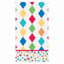 Party Diamond Harlequin Paper Guest Towels, 24ct