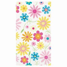 Bright Blooms Paper Guest Towels, 24ct