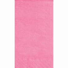 Hot Pink Paper Guest Towels, 40ct