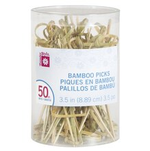 Bamboo Toothpicks, 50ct