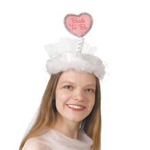 Heart Bride To Be Bachelorette Party Hat