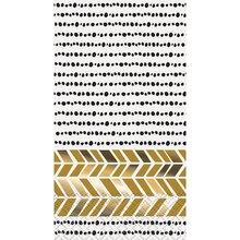 Foil Chic Black and Gold Paper Guest Towels, 16ct