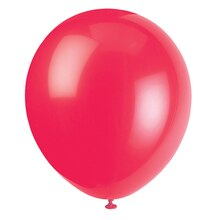 "12"" Latex Red Balloons, 72ct"