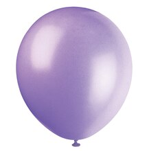 "5"" Latex Lavender Balloons, 72ct"