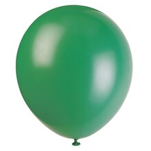 "12"" Latex Forest Green Balloons, 72ct"