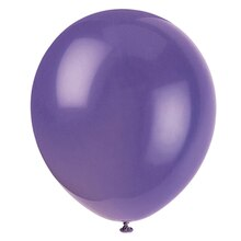 "12"" Latex Amethyst Purple Balloons, 72ct"