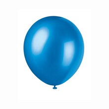 """12"""" Latex Pearlized Sapphire Blue Balloons, 72ct"""